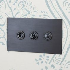 Antique Bronze Dolly Switches and Button Dimmer Controller