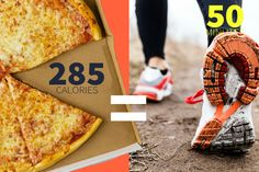 What does it take to burn off the calories in your favorite foods?