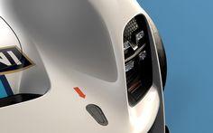 Porsche 908-04 Concept Headlight Detail