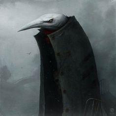 狂気の中に潜む体温。ロシアのアーティストが生み出す、温度が感じられるダークサイド絵