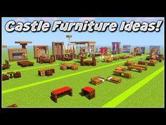 Minecraft Medieval Castle, Minecraft Castle Blueprints, Minecraft Room, Minecraft Plans, Minecraft Tutorial, Minecraft Furniture, Minecraft Houses, Disney Minecraft, Minecraft Cottage