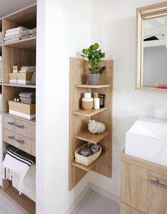 Aménager une petite salle de bains : les 10 bonnes idées à piquer - Côté Maison #DécoTendance2019