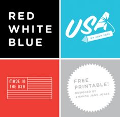 Printable Fourth of July Designs