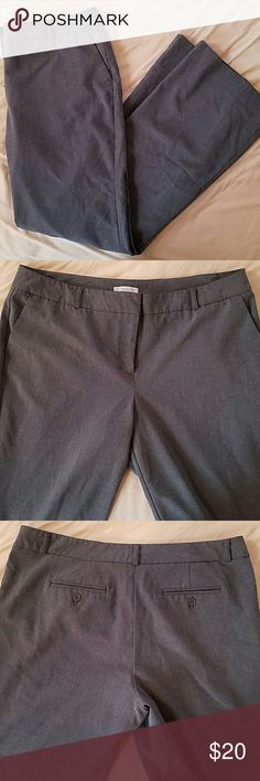 New York & Company Stretch Trousers New York & Company grey stretch trousers. 14, average. Excellent condition. Never worn but not new. New York & Company Pants Trousers