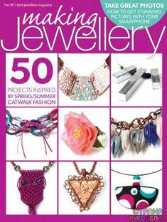 Making jewellery № 78 2015 04 Wire Jewelry Designs, Metal Jewelry, Jewelry Crafts, Magazine Crafts, Catwalk Fashion, Wire Wrapped Jewelry, Polymer Clay, Jewelery, Crochet Earrings