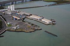 Port of Onehunga, Manukau Harbour, Auckland, New Zealand