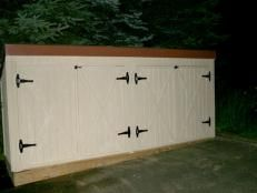 How to Build a Storage Shed for Garden Tools | Landscaping Ideas and Hardscape Design | HGTV