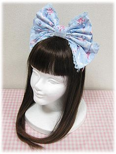 Angelic Pretty Memorial Cake Princess Ribbon Head Bow
