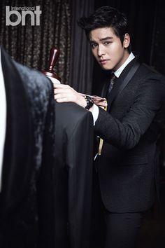 Lee Jang Woo - bnt International December Issue '14