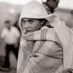 """Jean Seberg on set of """"Bonjour Tristesse"""" photo by Lionel Kazan for Vogue 1958 - instagram.com/blueberrymodern"""