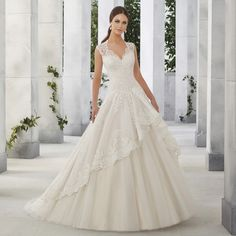 Cheap a line wedding dress, Buy Quality bridal gown directly from China dress bride Suppliers: A Line Wedding Dresses Lomg Sexy V Neck With Lace Appliques Plus Size New vestido de noiva Cheap Wedding Dress Bride Bridal Gown Bridal Dresses Online, 2016 Wedding Dresses, Wedding Dresses Plus Size, Wedding Dress Styles, Designer Wedding Dresses, Bridal Gowns, Ball Dresses, Ball Gowns, Unconventional Wedding Dress