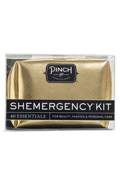 Pinch Provisions 'SHEMERGENCY® - Metallic' Kit available at #Nordstrom