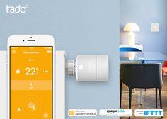 tado Thermostat v3 | Apple HomeKit und Amazon Alexa Sprachsteuerung  Die 3. Generation vom tado Thermostat (v3) unterstützt Plattformen wie Amazon Echo, IFTTT und Apple HomeKit und verspricht damit volle Konnektivität.  #tado #smarthome #tech #technews #smarttech #homekit #amazon #alexa #heizung #energie