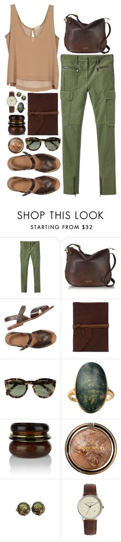 """""""A Day at Jurassic Park"""" by grapecar ❤ liked on Polyvore featuring 3.1 Phillip Lim, The Bridge, CÉLINE, Oasis, Napoleon Perdis, Simon Carter and jurassicworld"""