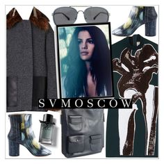 """""""SVMOSCOW"""" by teoecar ❤ liked on Polyvore featuring Marni, Maison Margiela, Dries Van Noten, Bomedo and Burberry"""