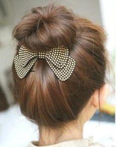 Bow Hair Barrettes