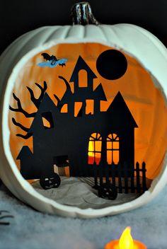 Shadow Box Pumpkin Tutorials