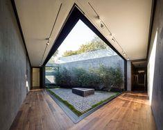 Modern Living Spaces // patio detail by Walker Workshop