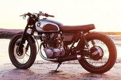 #Honda #cb450k #Bratstyle