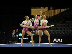 Acrobatic Gymnastics Worlds 2010 Ukraine WG Combined - YouTube