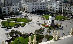 Plaza San Martin, Lima Peru
