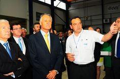 EN// 2014 - Visit of the President of the Republic, Aníbal Cavaco Silva, to the CEI's installations. PT// 2014 - Visita do Presidente da República, Aníbal Cavaco Silva, às instalações CEI.