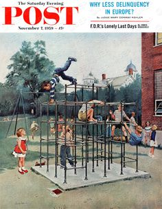 Jungle Gym by George Hughes, November 7, 1959