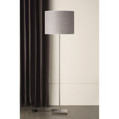 233FL Felix Satin Nickel Floor Lamp