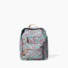PRINTED BACKPACK from Zara