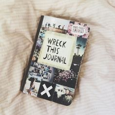 Wreck this journal ideas - Cover page