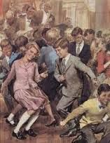 Rock and Roll di W. Molino anni 50