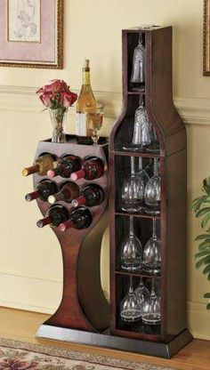 awesome Conversation Piece Wine Rack by www.top-home-deco. - Home Decor