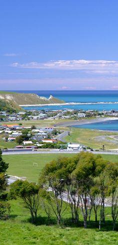South Bay vista - Kaikoura District, NZ