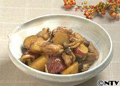 さつま芋の甘みがこっくりおいしい「さつま芋と鶏肉の煮もの」のレシピを紹介!
