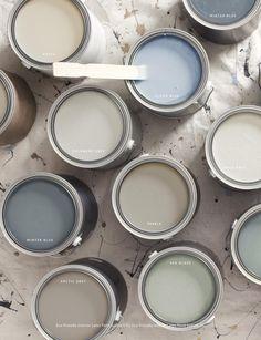 Restoration Hardware Paints