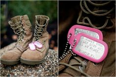 Every military girlfriend, fiancee, wife needs a pair of these :) love mine!!
