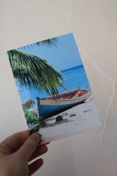 """Carte postale """"bateau échoué"""" couleur : Cartes par le-petit-bazar-des-trinomettes-en-delire"""