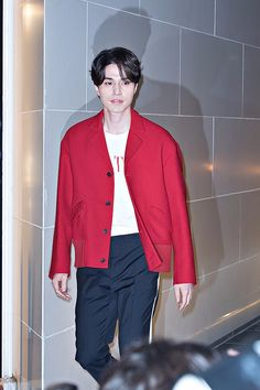 Lee Dong Wook at opening of Valentino Pop up store in Seoul 7.11.17