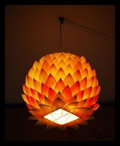 paper lantern light installation - Google Search