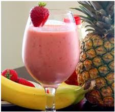 Pineapple Strawberry BananaProtein Smoothie - Nutribullet Recipes