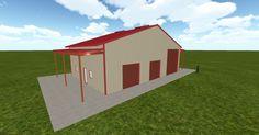 Cool 3D #marketing http://ift.tt/2yced2L #barn #workshop #greenhouse #garage #roofing #DIY