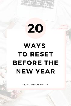 A guide to help you reset your frame of mind, reflect on what happened in the past year, and recharge your batteries so you can start the new year with a solid plan of attack Self Development, Personal Development, How To Better Yourself, Improve Yourself, Frame Of Mind, Self Care Activities, Nouvel An, Self Improvement Tips, Self Care Routine