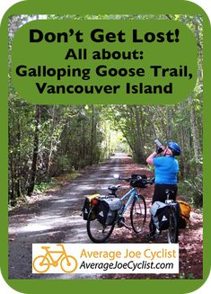 This is a complete guide to the wonderful off-road Galloping Goose Bike Trail on Vancouver Island. Buy Bike, Bike Run, Road Bike Women, Cool Bike Accessories, Cycling Bikes, Road Bikes, Cycling Workout, Bike Seat, Bike Style