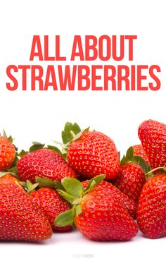 Nutrition: Everything you've ever wanted to know about strawberries!