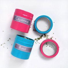 DIY To Try: Las etiquetas de las Especias pizarra | eatwell101.com