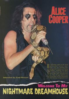 Alice Cooper, Movie Posters, Film Poster, Billboard, Film Posters