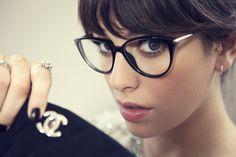Blanca Suárez y su make up cuando llevas gafas.