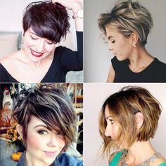 10 Trendy Messy Short Bob Hairstyles - Top Beauty Magazines Round Face Haircuts Medium, Medium Hair Cuts, Funky Bob Hairstyles, Hair Beauty, Top Beauty, Beauty Magazine, Red Carpet, Hair Styles, Hair Ideas