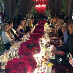 Lisa Vanderpump entertaining.. Ken Todd and Mauricio Umansky joint birthday sinner..