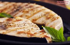 Swordfish is a very tasty fish all by itself. Our swordfish recipe has some fresh herbs and garlic to brighten up the flavor a bit. It's great! Herb Recipes, Detox Recipes, Grilling Recipes, Seafood Recipes, Gourmet Recipes, Cooking Recipes, Healthy Recipes, George Foreman Grill, Grilled Swordfish